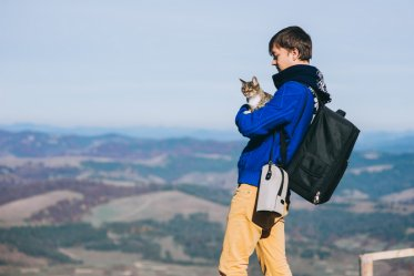 How to Go Hiking with Your Cat
