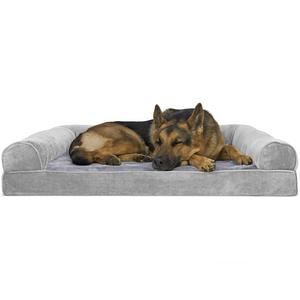FurHaven Plush & Suede Orthopedic Sofa Bed