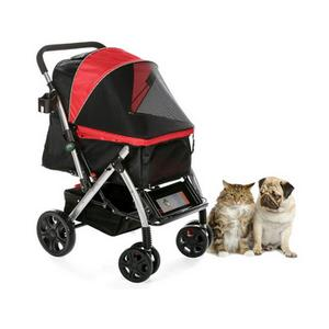 HPZ Pet Rover Premium Double Cat Stroller