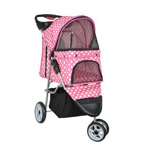 VIVO Three-Wheel Cat Stroller