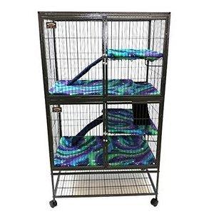 Piggy BedSpreads Fleece Liner for Ferret Cages