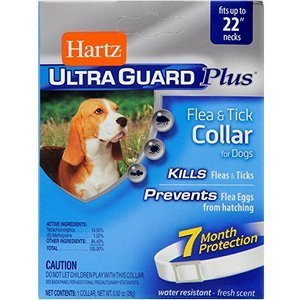 Hartz Ultraguard Plus Flea & Tick Dog Collar