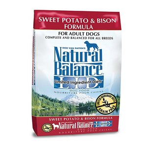 Natural Balance Limited Ingredient Diets Dry Dog Food – Sweet Potato & Bison Formula