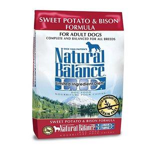 Natural Balance Limited Ingredient Diets Dry Dog Food – Sweet Potato & Bison Formula