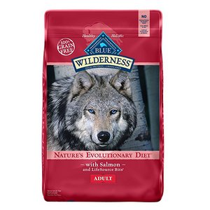 BLUE Wilderness Adult Grain-Free Salmon Dry Dog Food