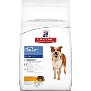 Hill's Science Diet Adult 7+ Active Longevity Chicken Meal, Rice & Barley Dry Dog Food