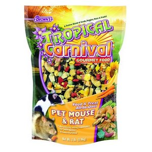 Brown's Tropical Carnival Mouse & Rat Food