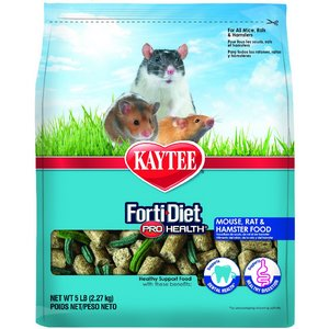 Kaytee Forti-Diet Pro Health Rat Food for Adults