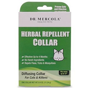Dr. Mercola Herbal Repellent Collar for Cats