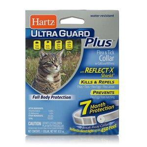 Hartz UltraGuard Plus Flea Collar for Cats