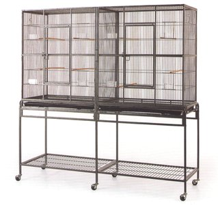 mcage Chinchilla Double Cage
